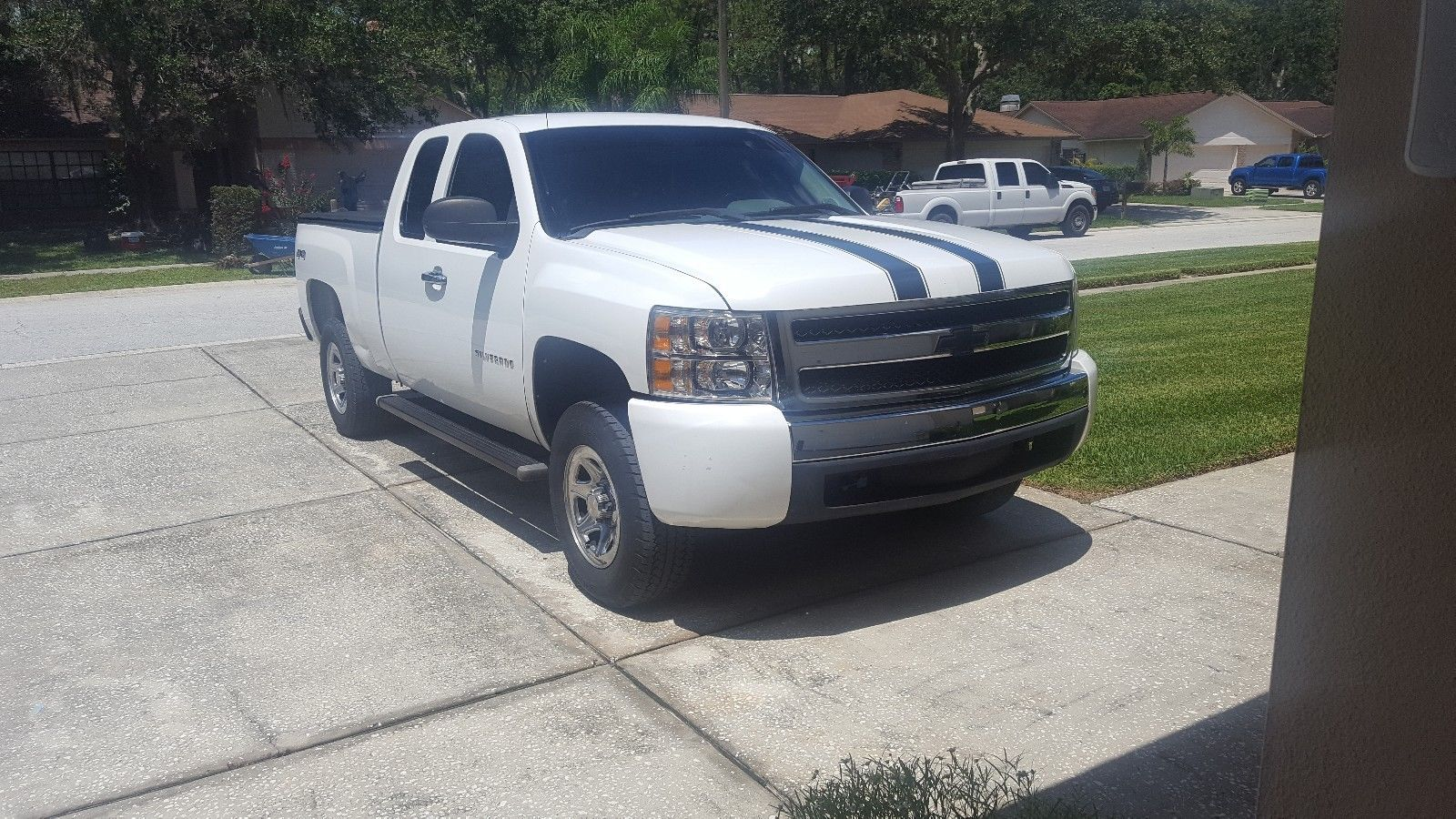 serviced 2010 Chevrolet Silverado 1500 WT lifted for sale