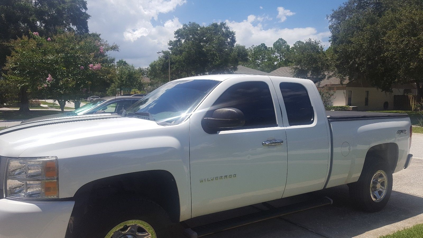 serviced 2010 Chevrolet Silverado 1500 WT lifted