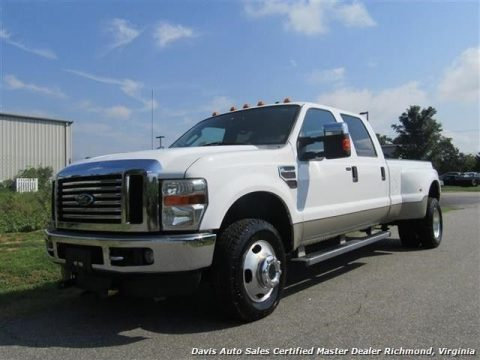 well loaded 2009 Ford F 350 Super Duty Lariat Diesel 4X4 lifted for sale