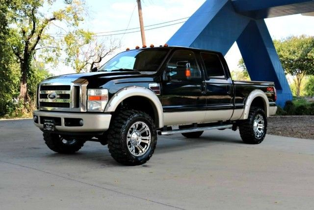 all works 2008 Ford F 350 XL lifted