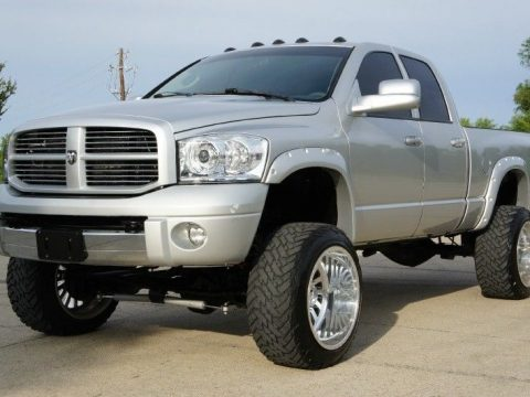 equipped 2008 Dodge Ram 2500 4WD Quad Cab SLT lifted for sale
