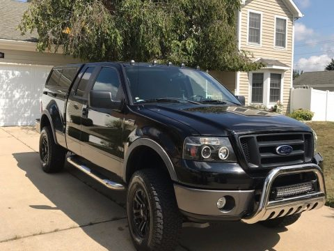 loaded 2008 Ford F 150 Flareside supercab lifted for sale