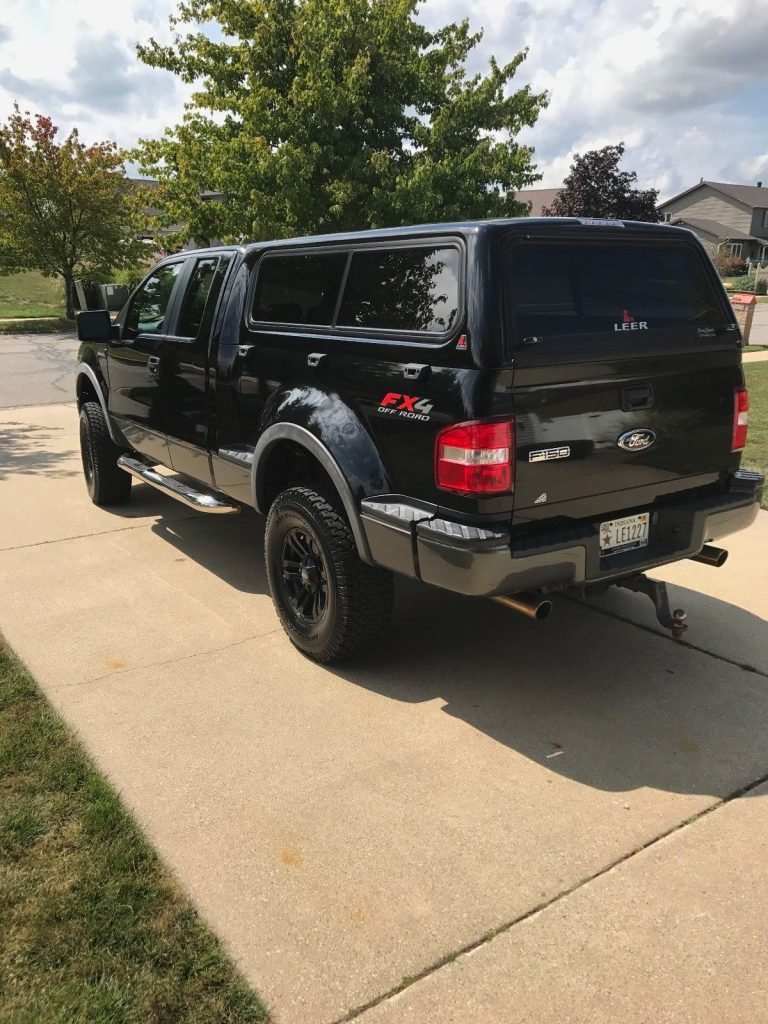 loaded 2008 Ford F 150 Flareside supercab lifted