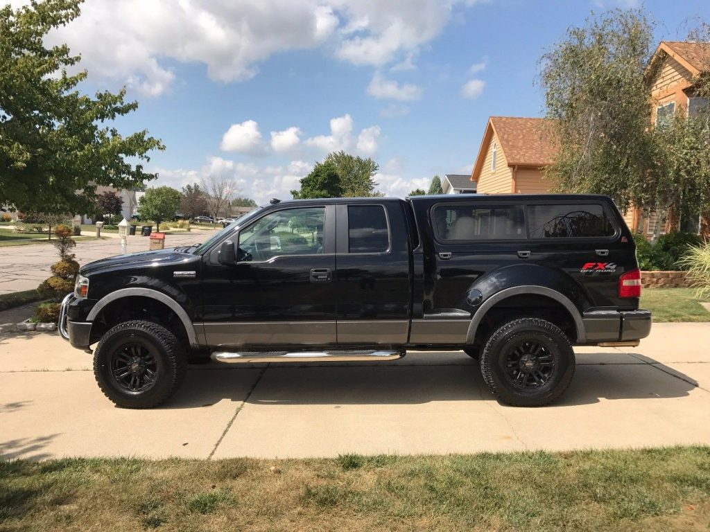 Ford F150 Suspension loaded 2008 Ford F 150 Flareside supercab lifted for sale