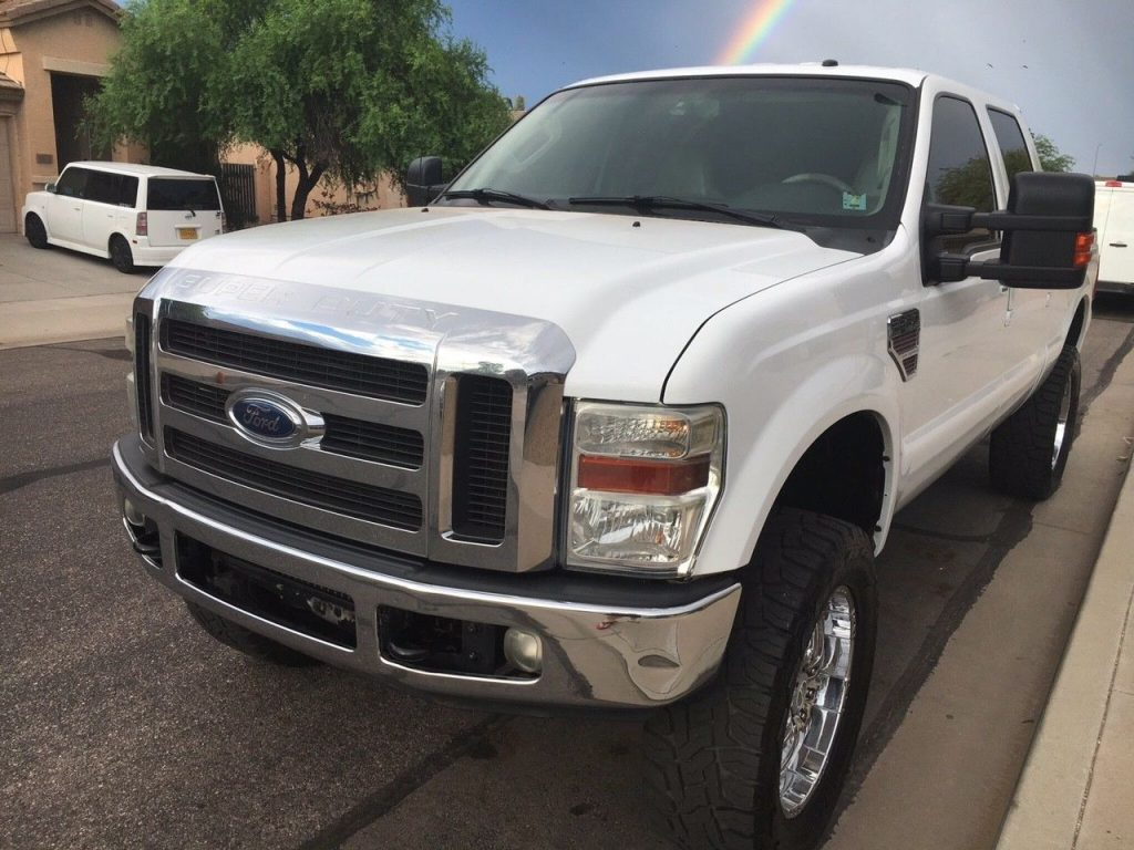 loaded 2008 Ford F 250 Lariat lifted