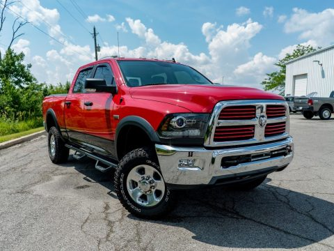 loaded 2016 Ram 2500 lifted pickup for sale