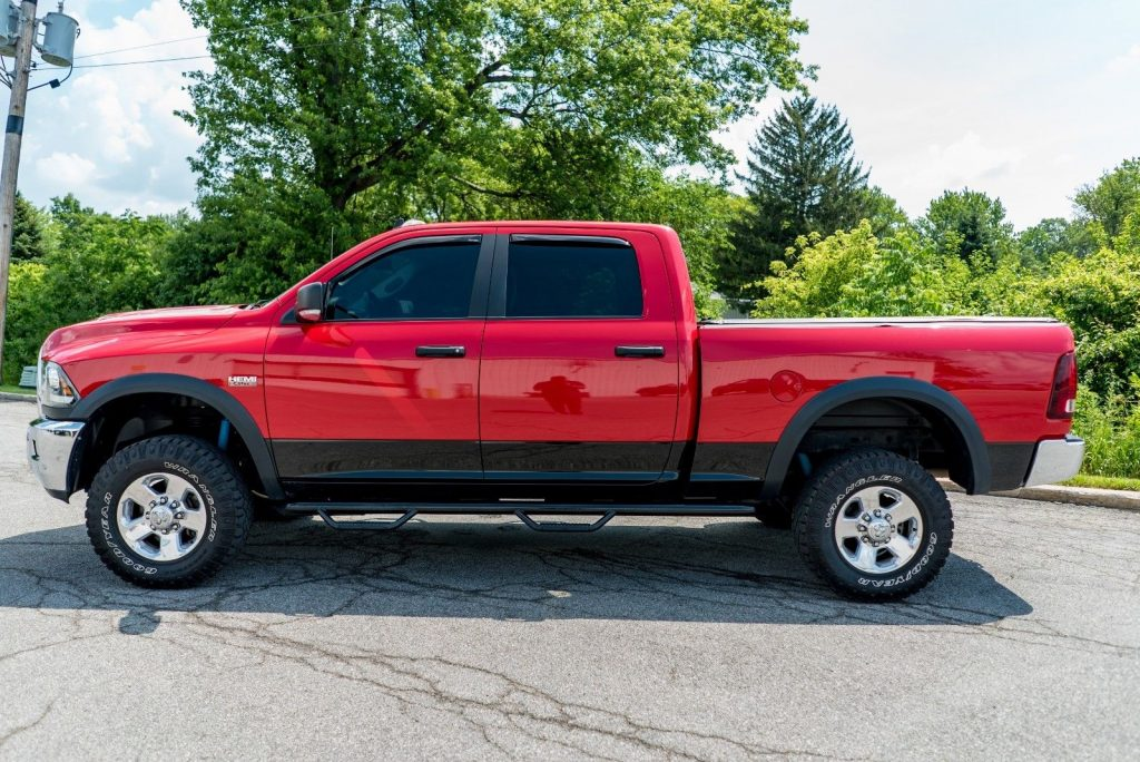 loaded 2016 ram 2500 lifted pickup for sale. Black Bedroom Furniture Sets. Home Design Ideas