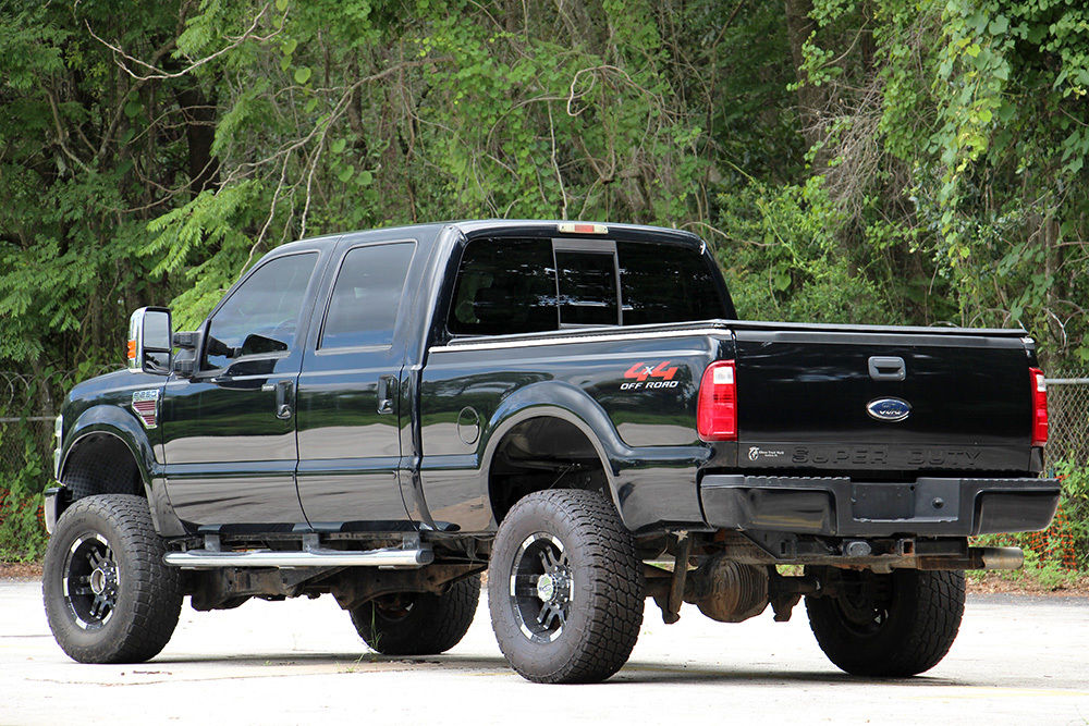 modified 2008 Ford F 250 XLT lifted