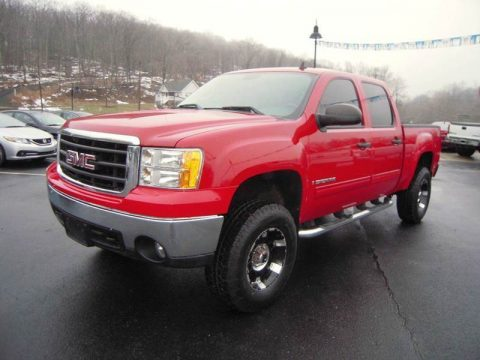 well equipped 2008 GMC Sierra 1500 SLE1 lifted for sale