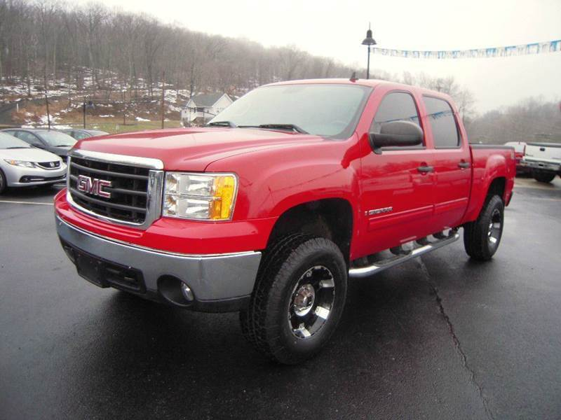well equipped 2008 GMC Sierra 1500 SLE1 lifted