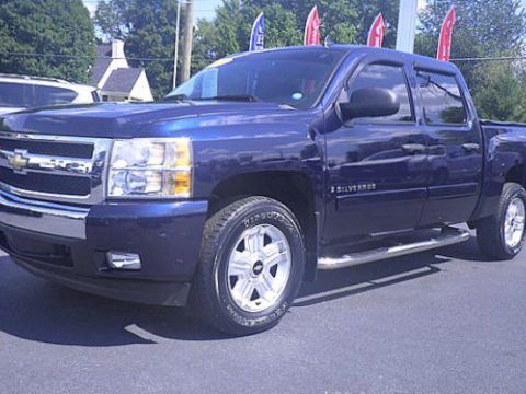 well loaded 2008 Chevrolet Silverado 1500 lifted for sale