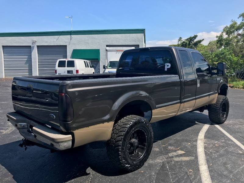 awesome 2006 Ford F 250 XLT Supercab lifted