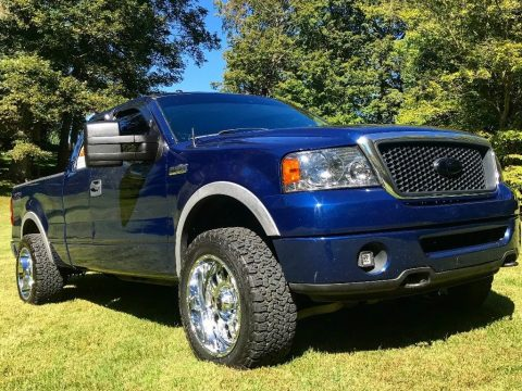 clean and sharp 2007 Ford F 150 FX4 lifted for sale