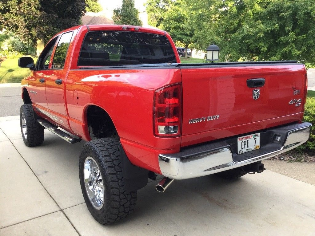 custom built 2006 dodge ram 2500 heavy duty lifted for sale. Black Bedroom Furniture Sets. Home Design Ideas