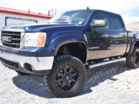 leather interior 2007 GMC Sierra 1500 SLE1 Crew Cab 4WD lifted for sale