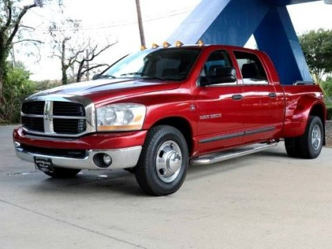 loaded 2006 Dodge Ram 3500 SLT lifted for sale