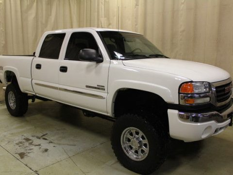 loaded 2006 GMC Sierra 2500 SLE2 lifted for sale
