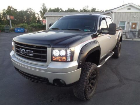 loaded 2007 GMC Sierra 1500 SLT lifted for sale