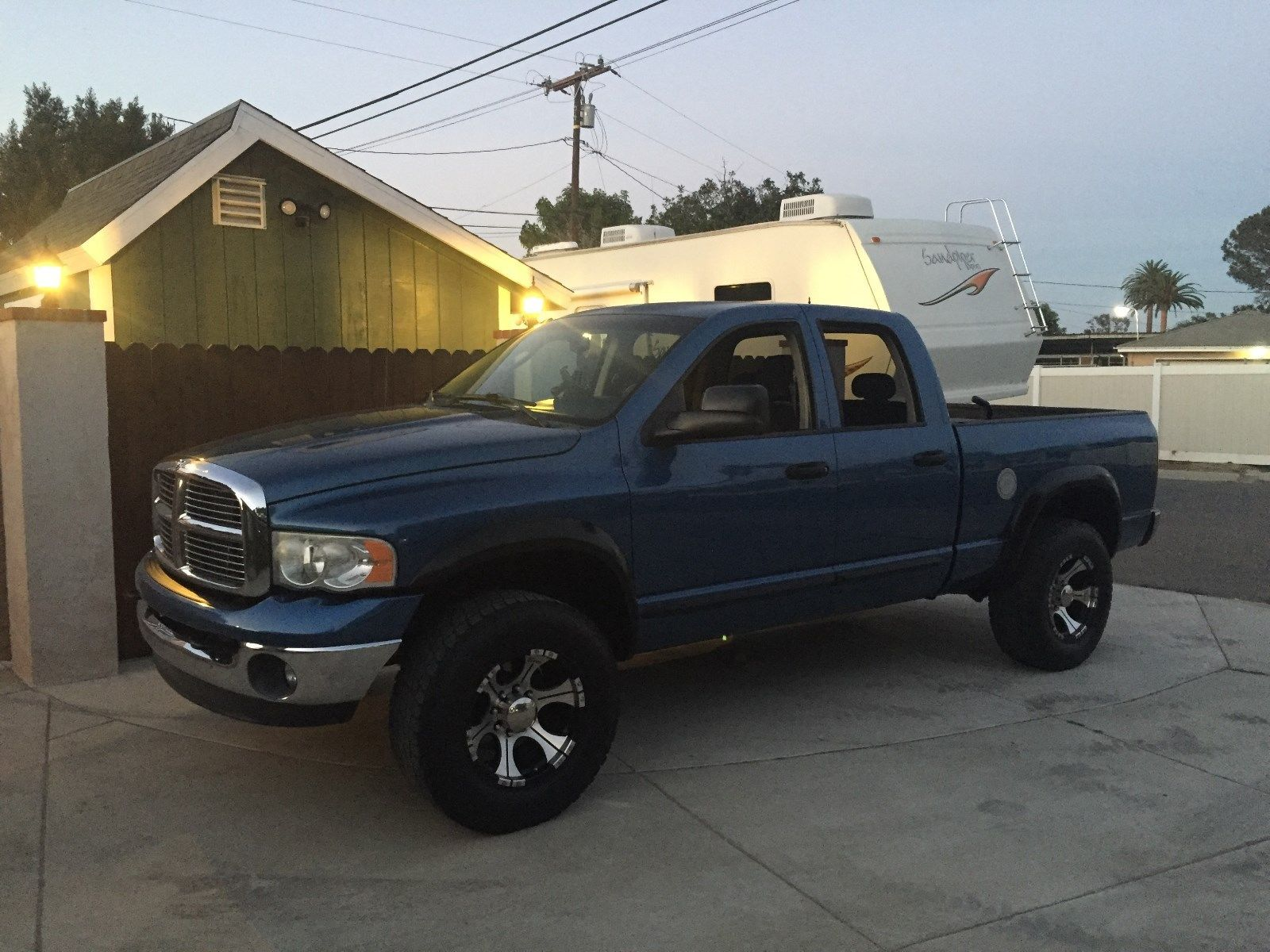 many extras 2005 Dodge Ram 2500 BIG HORN lifted for sale