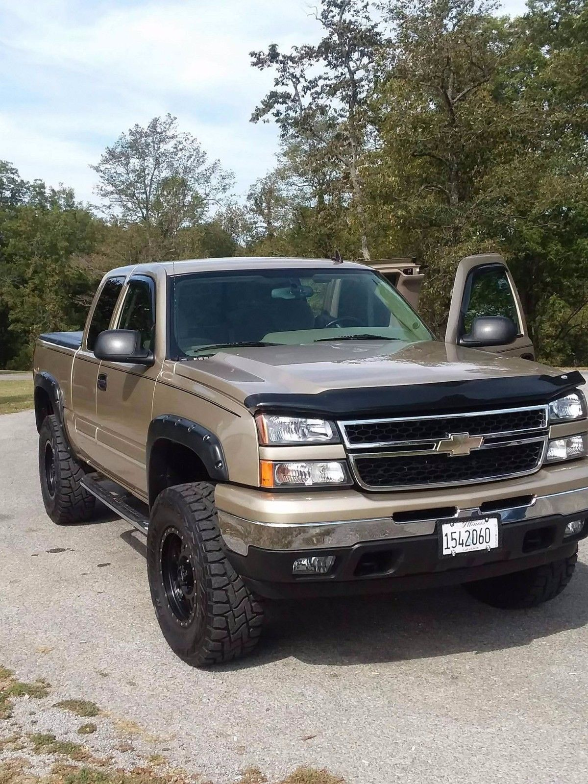 silverado lifted 2006 1500 chevrolet truck trucks mudded never monster