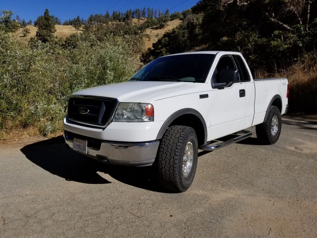 vinyl seats 2004 Ford F 150 lifted