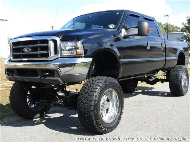 bulletproofed 2003 Ford F 250 Super Duty XLT Diesel Lifted