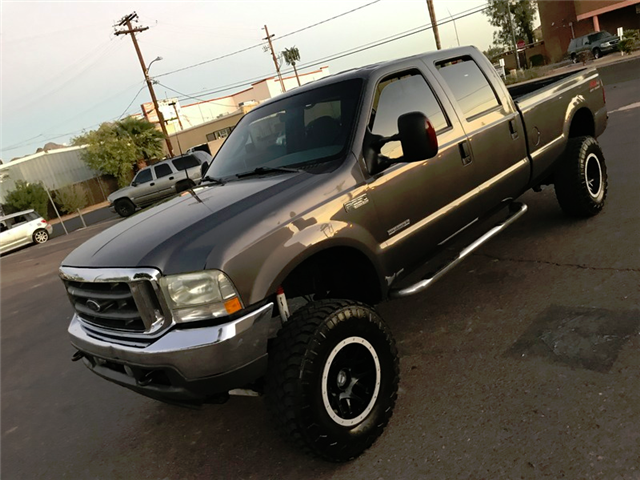 clean 2003 Ford F 250 XLT Lifted for sale