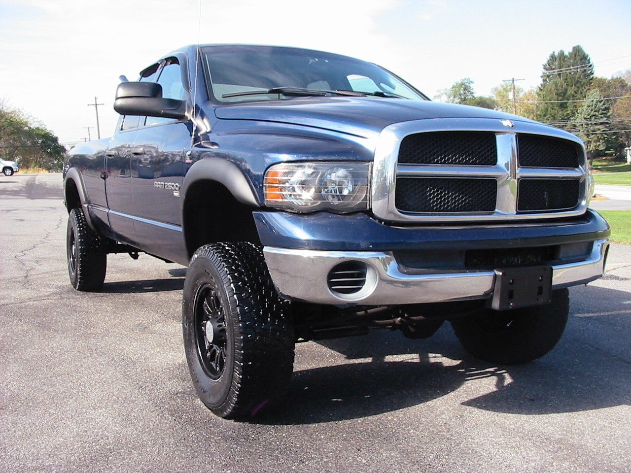 Cummins power 2003 Dodge Ram 2500 SLT 6 speed lifted for sale