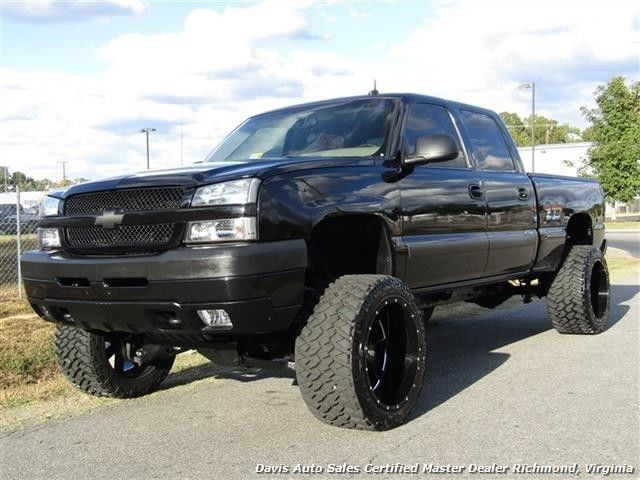 Duramax Diesel 2003 Chevrolet Silverado 2500 HD LT Lifted