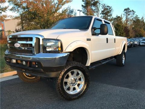loaded 2002 Ford F 350 XLT lifted for sale