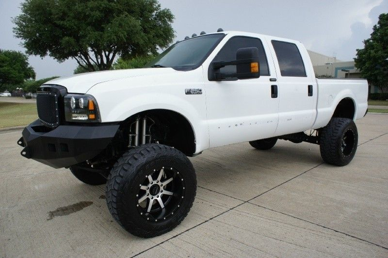 loaded 2003 Ford F 250 Crew Cab Lariat 4WD Lifted for sale