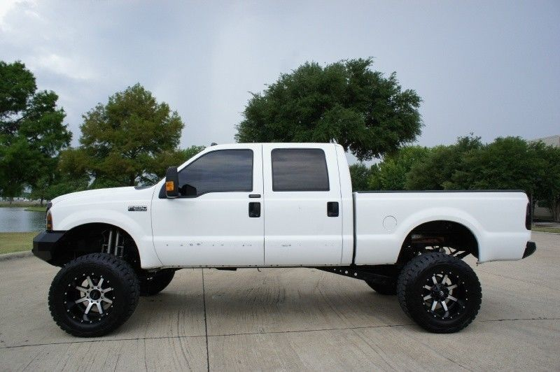 loaded 2003 Ford F 250 Crew Cab Lariat 4WD Lifted