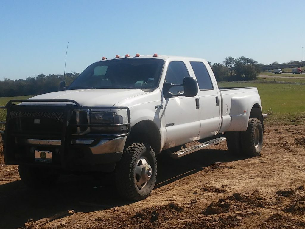 rebuilt transmission 2003 Ford F 350 XLT lifted