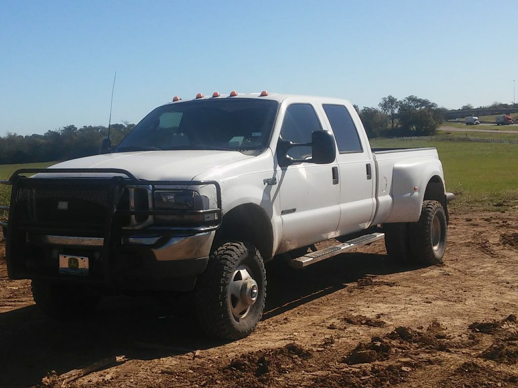 rebuilt transmission 2003 Ford F 350 XLT lifted for sale