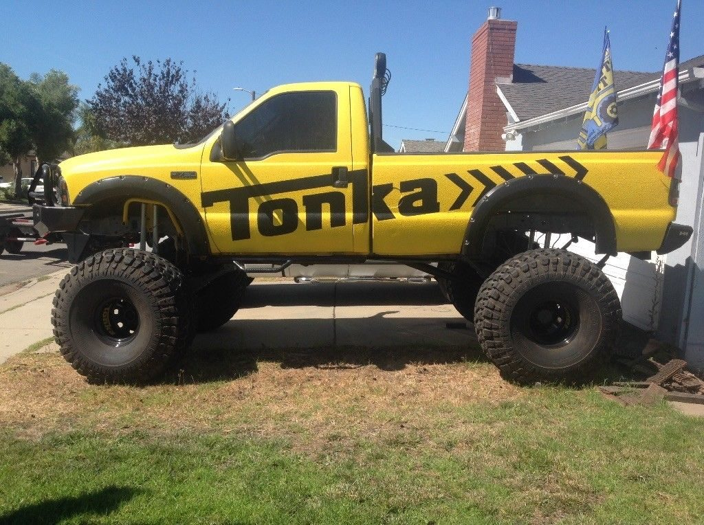 restored 1999 Ford F 250 lifted