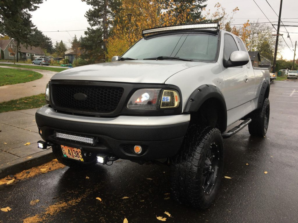 show truck 1999 Ford F 150 lifted