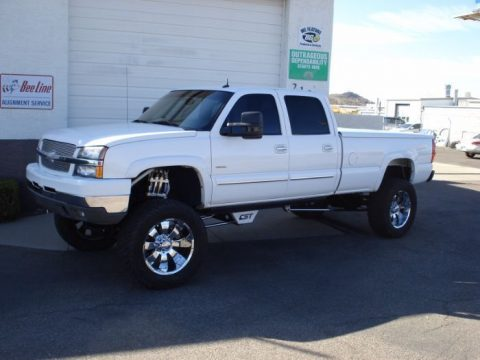 well equipped 2003 Chevrolet Silverado 2500 Lifted for sale