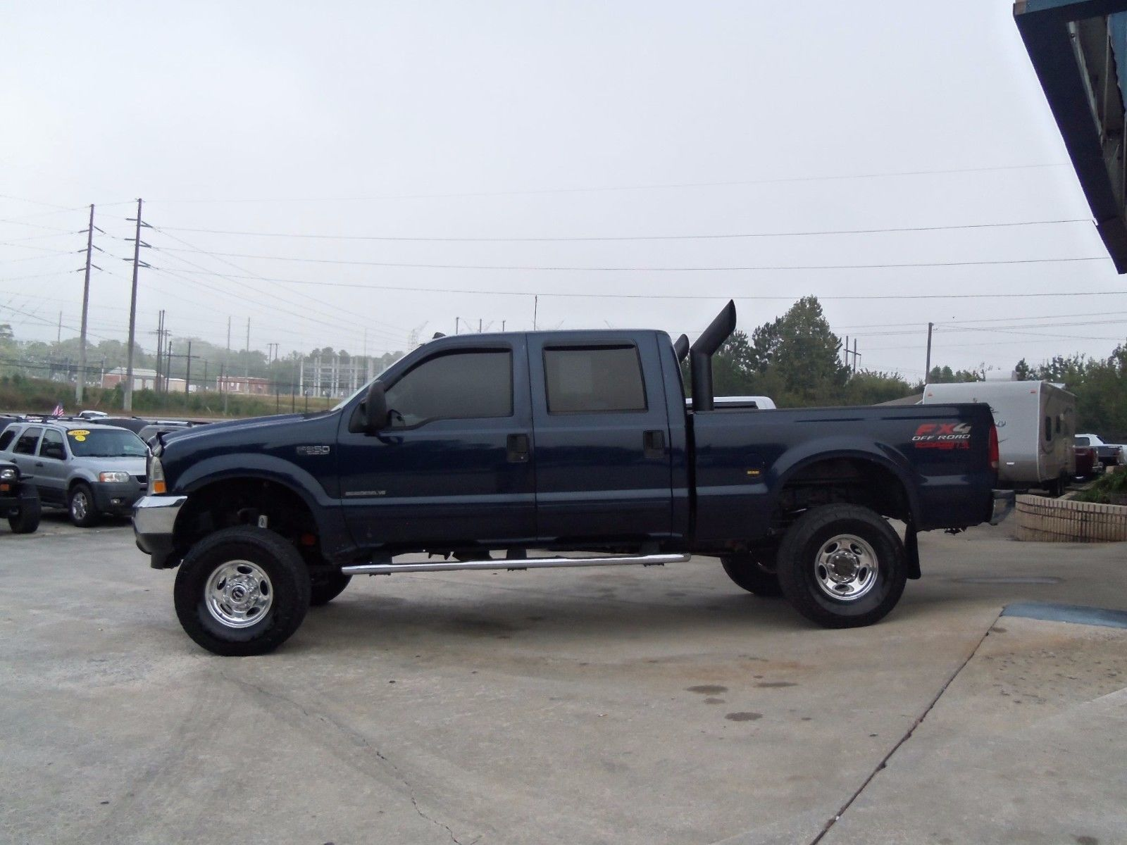 works great 2003 Ford F 350 XLT lifted