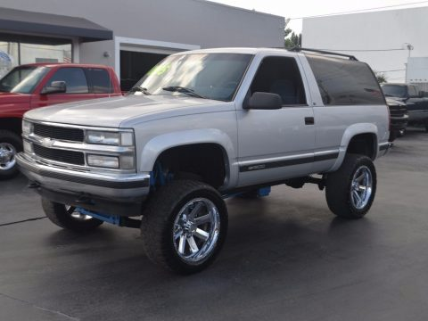 clean 1995 Chevrolet Tahoe 2 Door LS lifted for sale