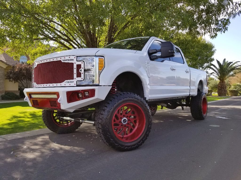 customized 2017 Ford F 250 lifted
