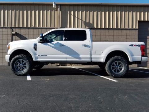 loaded 2017 Ford F 250 Plaltinum lifted for sale