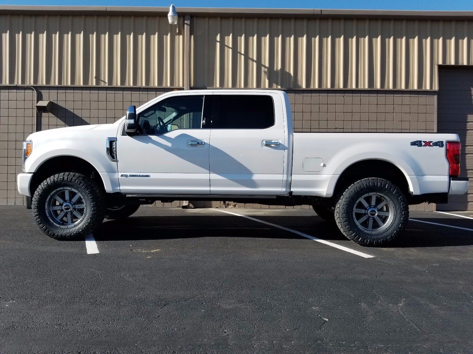loaded 2017 Ford F 250 Plaltinum lifted