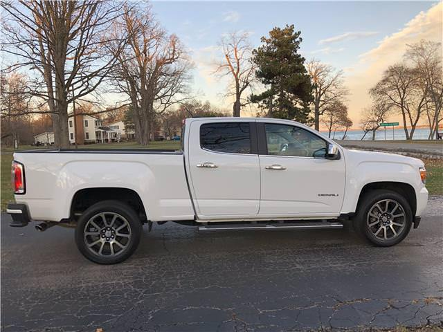 loaded 2017 GMC Canyon 2WD Denali lifted for sale