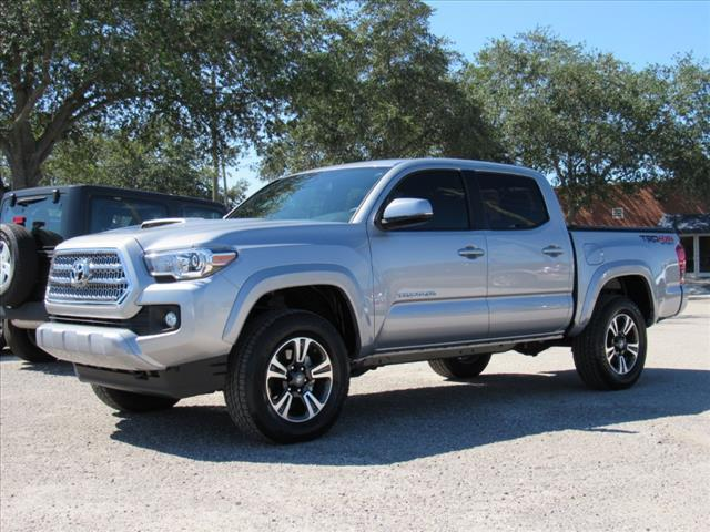 loaded 2017 Toyota Tacoma TRD Sport lifted