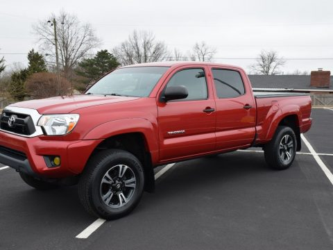low miles 2013 Toyota Tacoma SR5 factory options lifted for sale