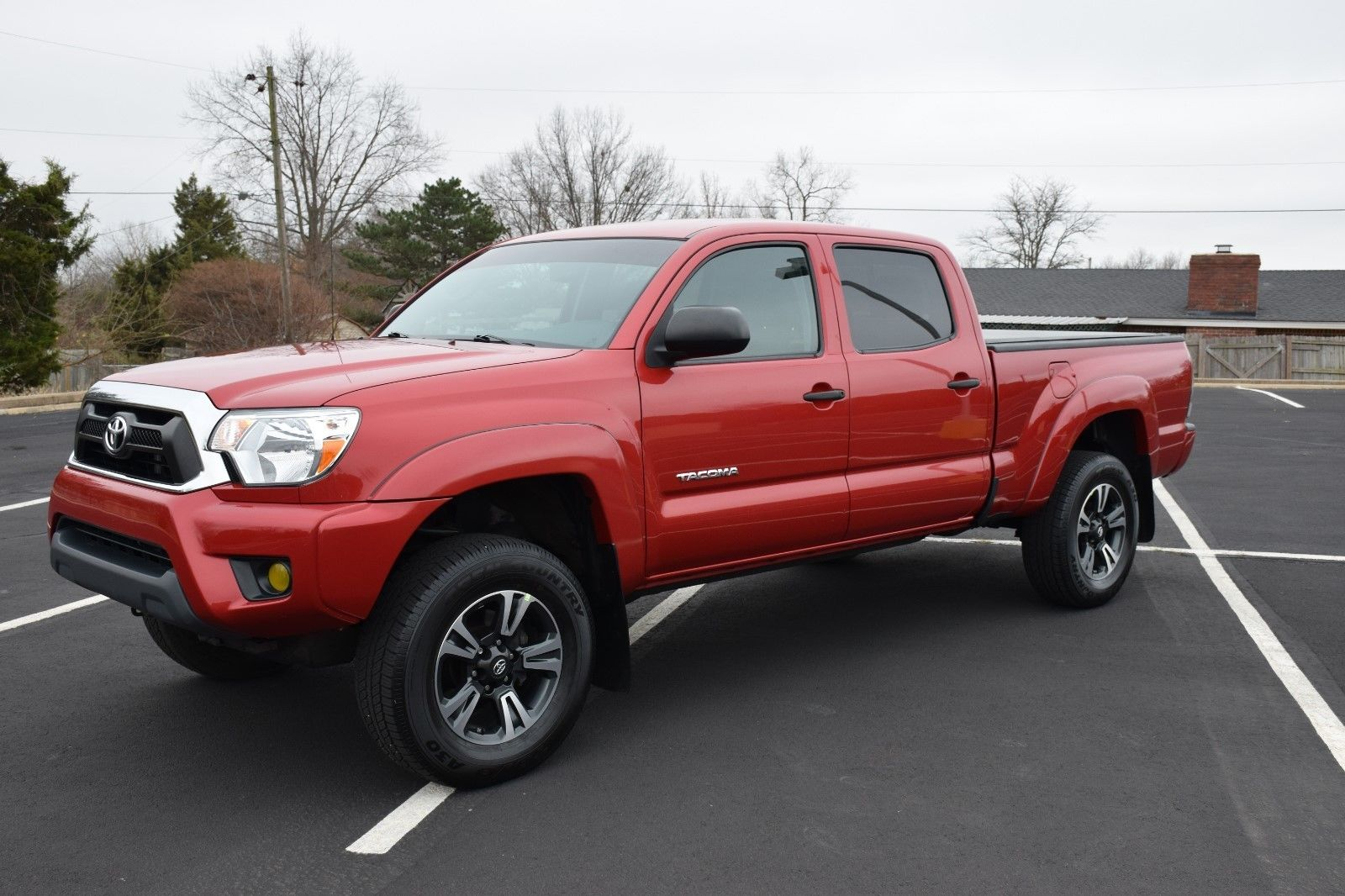 Toyota Pickup 4x4 >> low miles 2013 Toyota Tacoma SR5 factory options lifted ...