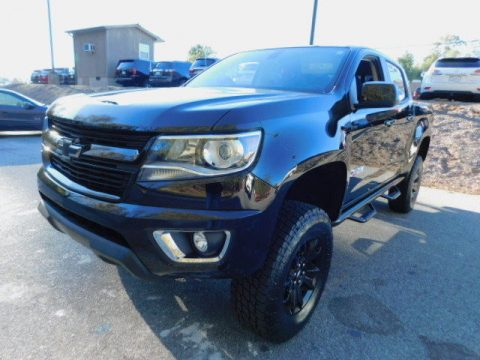 Short BOX 2017 Chevrolet Colorado Z71 CREW CAB 4WD lifted for sale