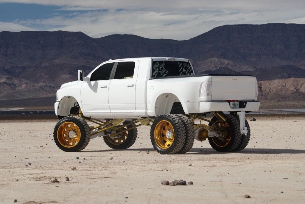 super lift 2016 Ram 3500 Laramie Limited lifted for sale