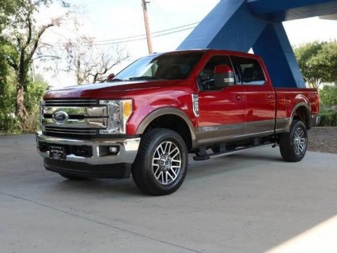 very clean 2017 Ford F 250 Lariat lifted for sale