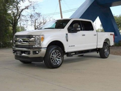 very low miles 2017 Ford F 250 Lariat lifted for sale